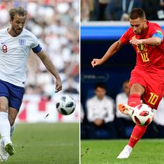 World Cup, 3rd place playoff, Belgium v England live: Three Lions and Red Devils battle for bronze