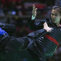 Bias, illegal kick, hole in the wall: Indonesian martial art pencak silat's rocky debut at Asian