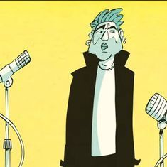 Watch: George Michael is back, this time through an animated interview