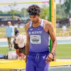 India's Tejaswin Shankar breaks 14-year old school record to win pentathlon title in USA
