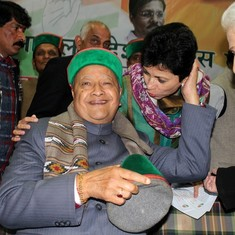 No one is more relieved than Himachal's Virbhadra Singh about Harish Rawat's victory in Uttarakhand