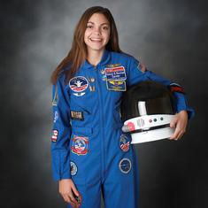 Watch: This 17-year-old could be the first person on Mars, and the first teenager to go to space