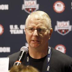 Swim coach Bob Bowman apologises for 'inappropriate' texts to Olympian Caroline Burckle