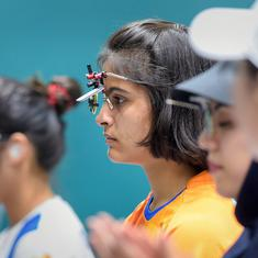 Shooting World Cup Final: Heartbreak for Manu Bhaker as she misses out on medal round by a whisker