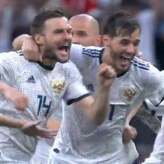 फुटबॉल विश्वकप : रूस और क्रोएशिया ने क्वार्टर फाइनल में जगह बनाई