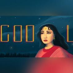 'ट्रेजडी क्वीन' मीना कुमारी के जन्मदिन पर गूगल ने डूडल बनाकर उन्हें याद किया