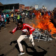 Zimbabwe elections: Clashes break out in Harare as ruling party inches closer to two-thirds majority