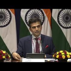 MEA dismisses Chinese envoy's call for trilateral summit, says India-Pakistan matters are bilateral