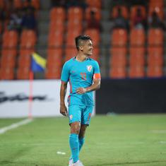 Chhetri joins Messi as second highest goalscorer in internationals among active players