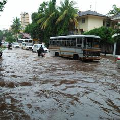 In photos: Heavy rain causes flood-like situation in parts of Goa