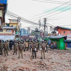 Shillong: Curfew extended to Monday night as mobs attack security forces again