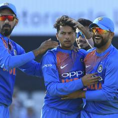 Kuldeep delivers on wrist-spin promise, brings high-flying Englishmen down to earth