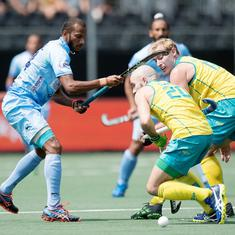 Champions Trophy hockey: Australia halt India's winning run with 3-2 win