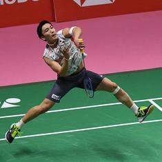 Badminton world number one Momota hurt in Malaysia crash: report