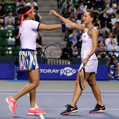 Miami Open: Sania Mirza and Barbora Strycova advance to the semi-finals with a straight sets win