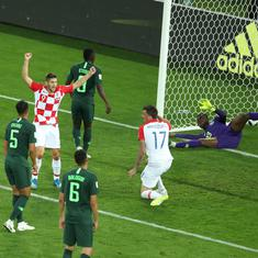 Fifa World Cup 2018: Croatia were far from perfect but they beat a Nigerian side that was dismal