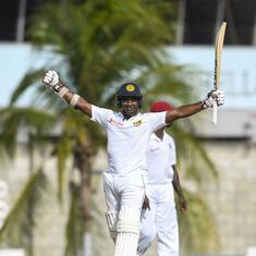 Ailing Kusal Perera guides Sri Lanka to historic Test win over West Indies