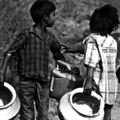 In pictures: How children in Bihar and Jharkhand are coping with climate change