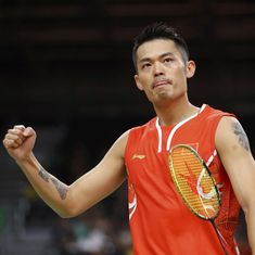 Five-time champion Lin Dan sets up semi-final against top seed Son Wan Ho at Worlds