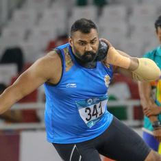 Asian Games, India's day 7 results: Tajinder Pal wins shot put gold, three bronze medals from squash