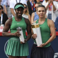 Halep prevails over Stephens in a three-set battle to pick up second Montreal title