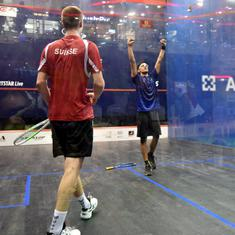 Squash World Junior Team C'ships: After easy win against Saudi Arabia, India stretched by the Swiss