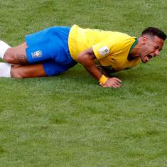 From Neymar's theatrics to Maradona's antics, five moments that defined the World Cup