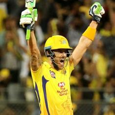 IPL, CSK vs SRH: Faf du Plessis helped Dhoni beat Williamson in the battle of the captains