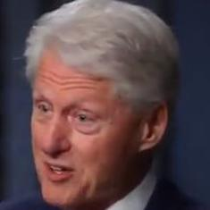 Awkward: Watch Bill Clinton respond when asked about #MeToo and Monica Lewinsky
