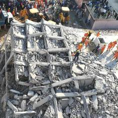 उत्तर प्रदेश : ग्रेटर नोएडा में दो इमारतें गिरीं, तीन लोगों की मौत