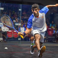 Squash World Championship: Saurav Ghosal's impressive run ends in quarter-finals