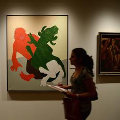 Indian artists are entitled to royalties from resale of their works. Why don't they get them?