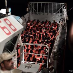 More than 600 refugees stranded in Mediterranean Sea as Italian minister shuts ports to rescue ship