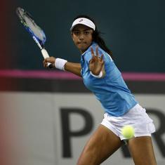 Indian tennis round-up: Saketh Myneni and Karman Kaur Thandi continue their strong run