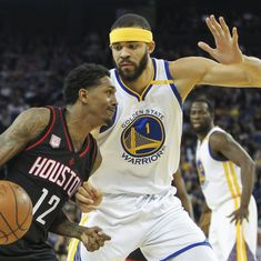 Stephen Curry takes Golden State Warriors to 107-98 win over Houston Rockets