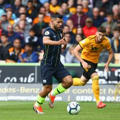 Premier League: Champions Manchester City held by newly-promoted Wolves