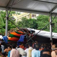 प्रधानमंत्री की मिदनापुर रैली के दौरान पंडाल गिरने की घटना की जांच एसपीजी करेगा