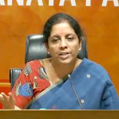 Karnataka: Nirmala Sitharaman visits Kodagu to observe relief work, pledges Rs 8 crore from funds