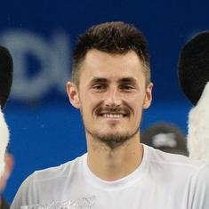 Controversial Australian Bernard Tomic ends three-year title drought after saving four match points