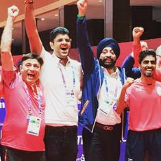 Asian Games table tennis: India finish with a historic bronze, go down to Korea in the semi-final