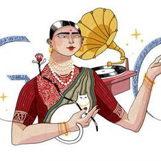Google marks 145th birth anniversary of singer Gauhar Jaan with a doodle