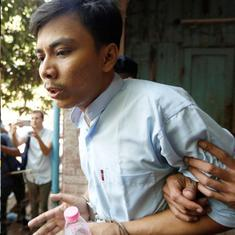 Myanmar court sentences two Reuters journalists to seven years in prison in secrets case