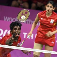 Badminton Worlds: Ashwini-Satwik intimidate world No 7 pair Goh-Lai to reach quarter-finals