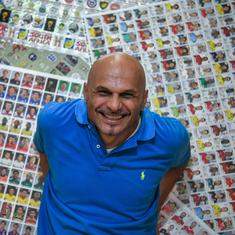 4,000 albums, two million stickers: Gianni Bellini lays claim to world's largest football collection