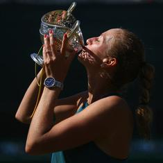 Kvitova defends Birmingham title, comes from set down to defeat Rybarikova in final