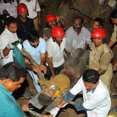 At least seven construction workers killed after landslip in Andhra Pradesh's Guntur city