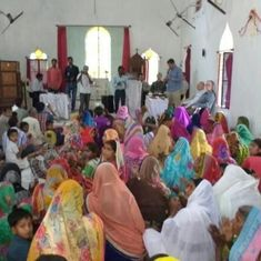 UP: Yogi Adityanath's Hindu Yuva Vahini disrupts church meet alleging forced religious conversions