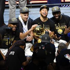'Next year will be even tougher': Warriors aim for fourth title in five NBA seasons