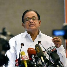 BJP government is incompetent in terms of economic management, says P Chidambaram