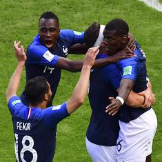 World Cup 2018: Paul Pogba scores winning goal as France edge out gritty Australia